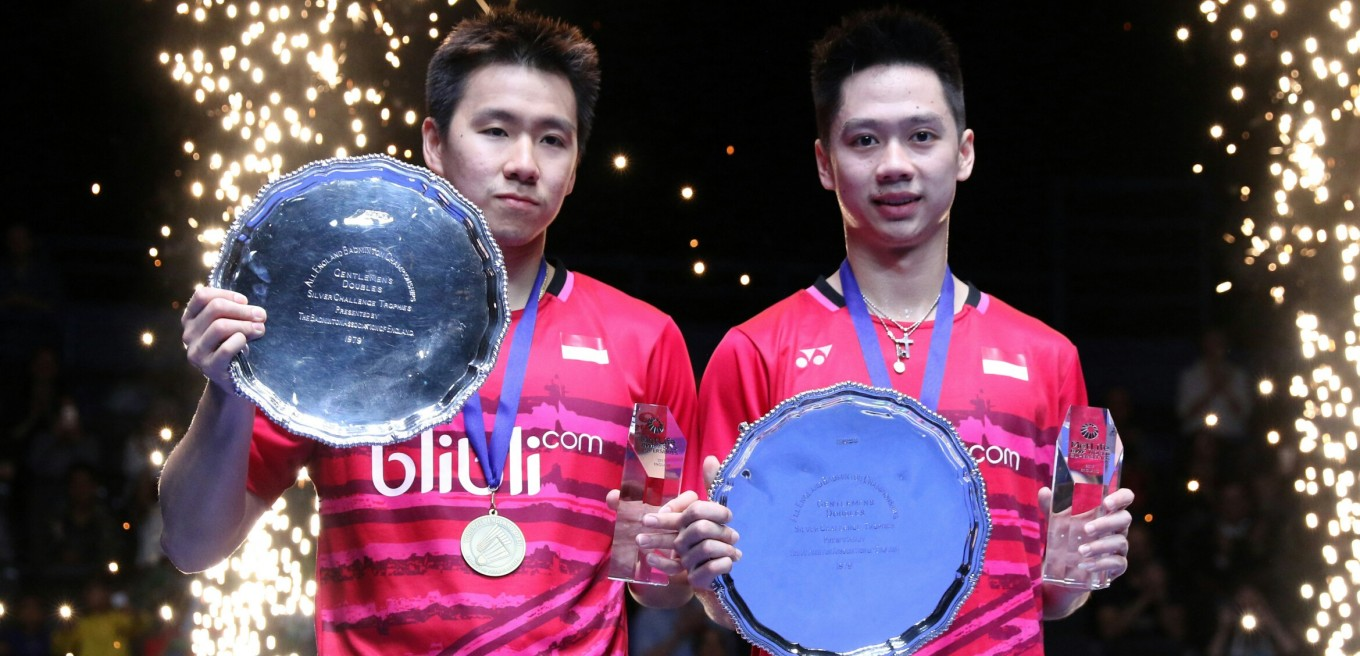 Kevin Marcus new All England champions from Indonesia World
