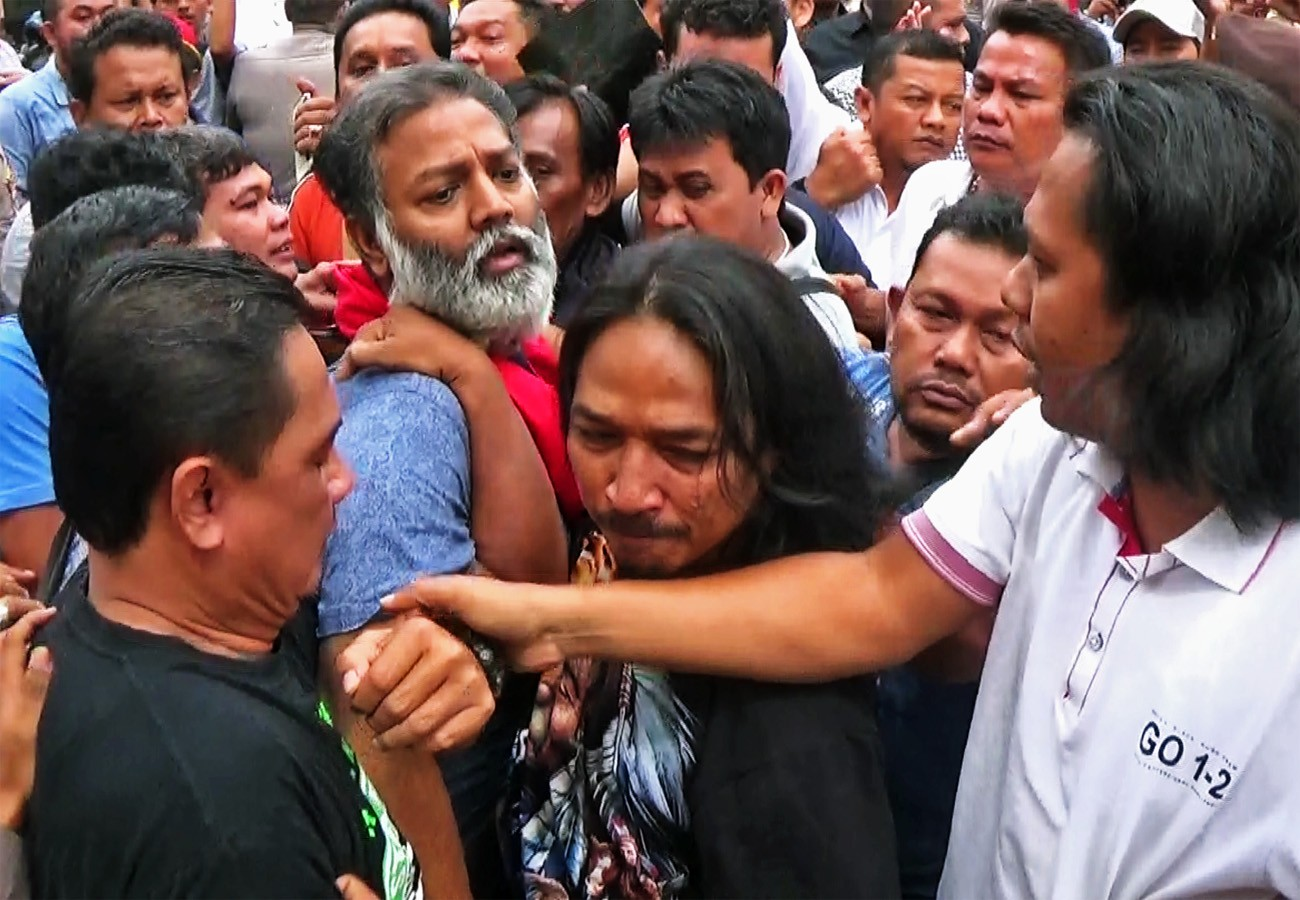 Rearrest of suspect in the murder case of businessman in Medan turns ugly