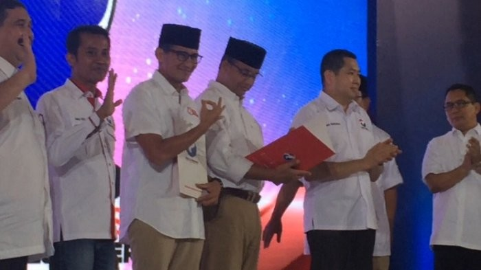 Shares of firms controlled by Sandiaga, Hary Tanoe rise after election