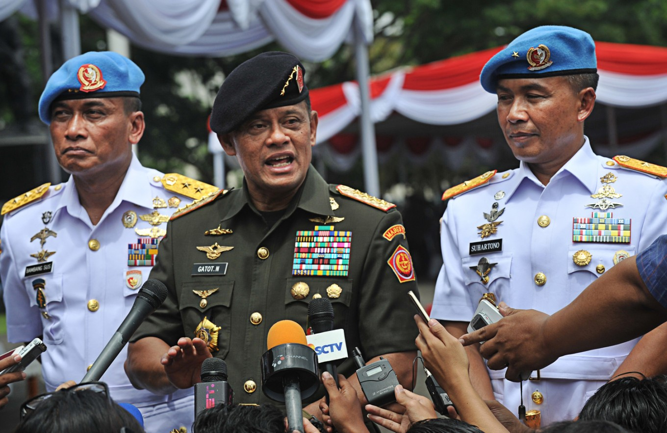 Indonesian Military chief denied departure on US-bound flight