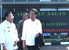 Jokowi inaugurates border post in West Kalimantan