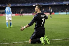 Real Madrid to play Bayern in Champions League quarterfinals