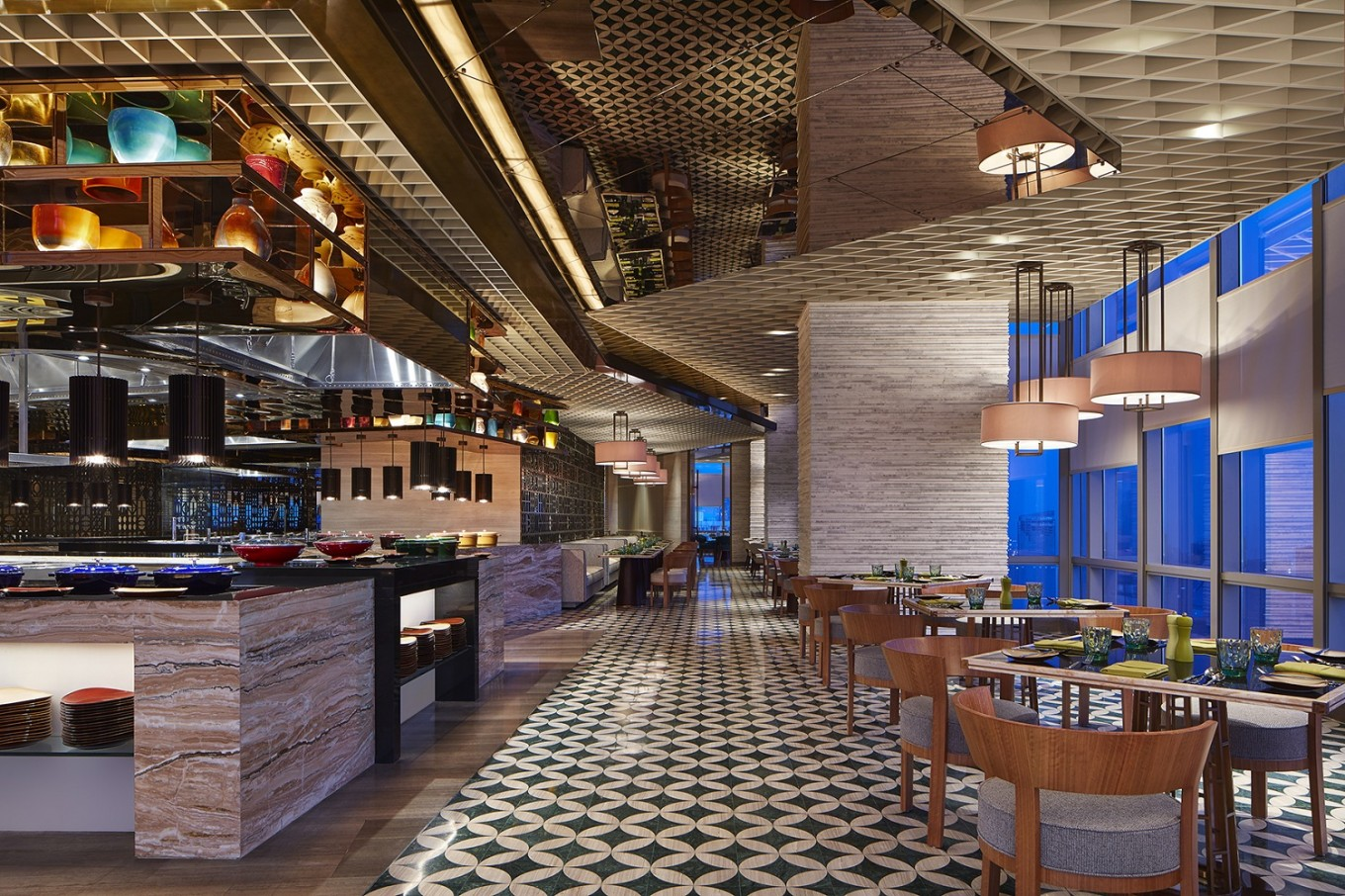 Get a glimpse of seoul at the westin jakarta hotel food for Design hotel jakarta