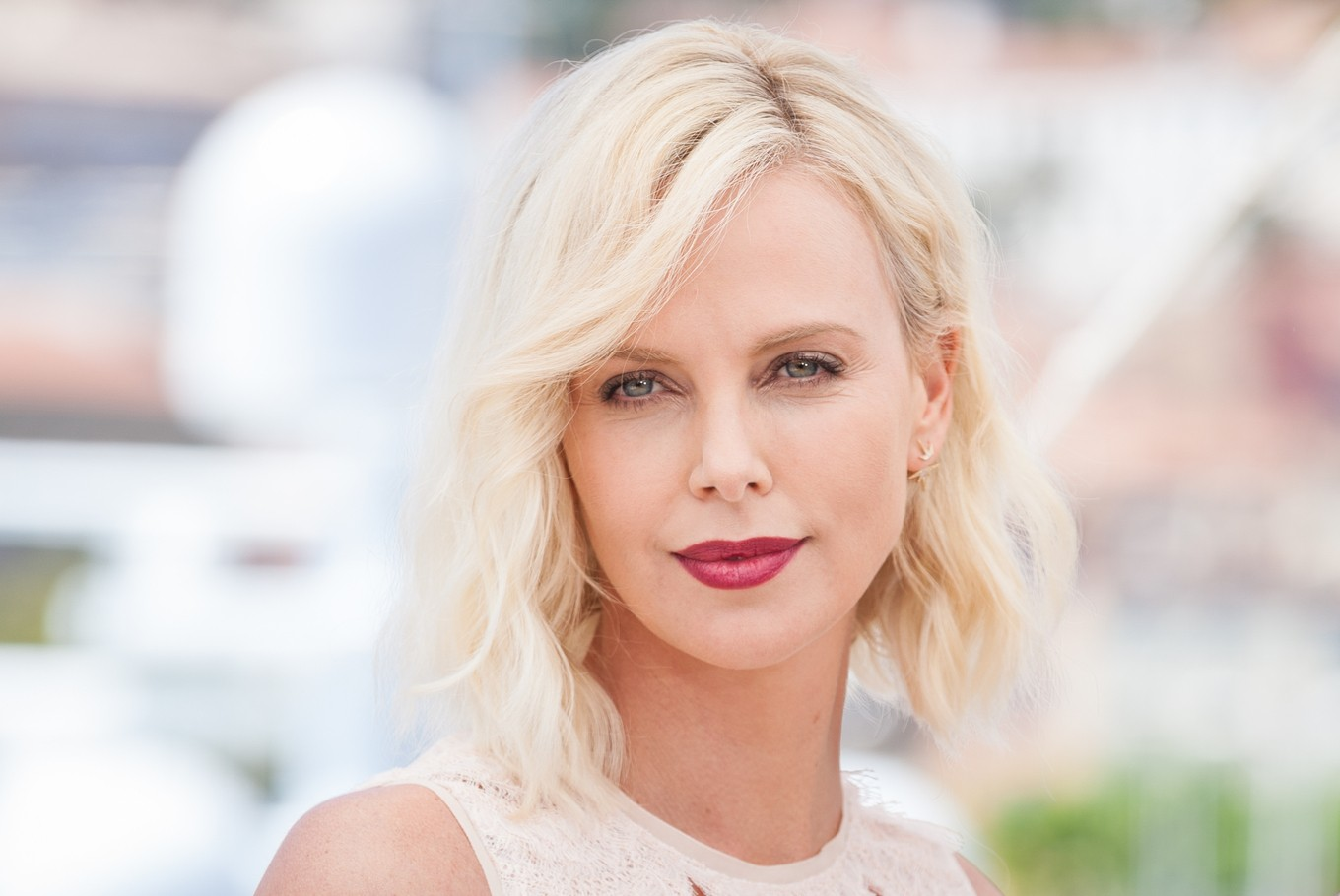 Actress Charlize Theron unveils stars joining her fight on domestic abuse