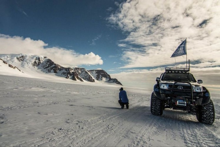 Driving to the South Pole is coolest road trip you've never heard of