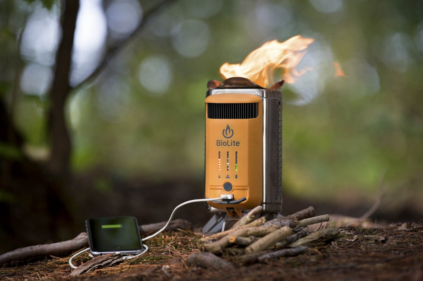 A camping stove that can also recharge your gadgets - Science ...
