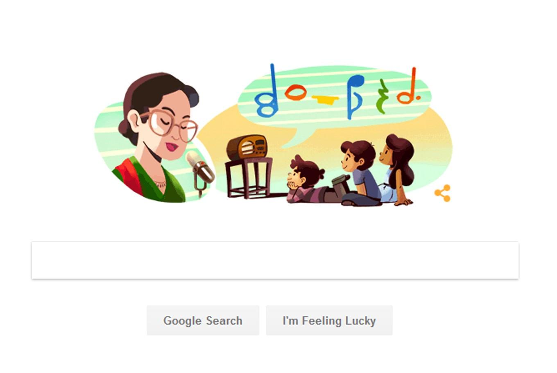 Google doodle honors Ibu Sud's 109th anniversary
