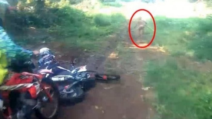 Human or not? Mysterious figure caught on camera in Aceh sparks internet frenzy