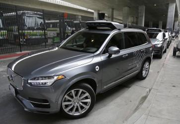 Self-driving Uber SUV struck during Arizona accident