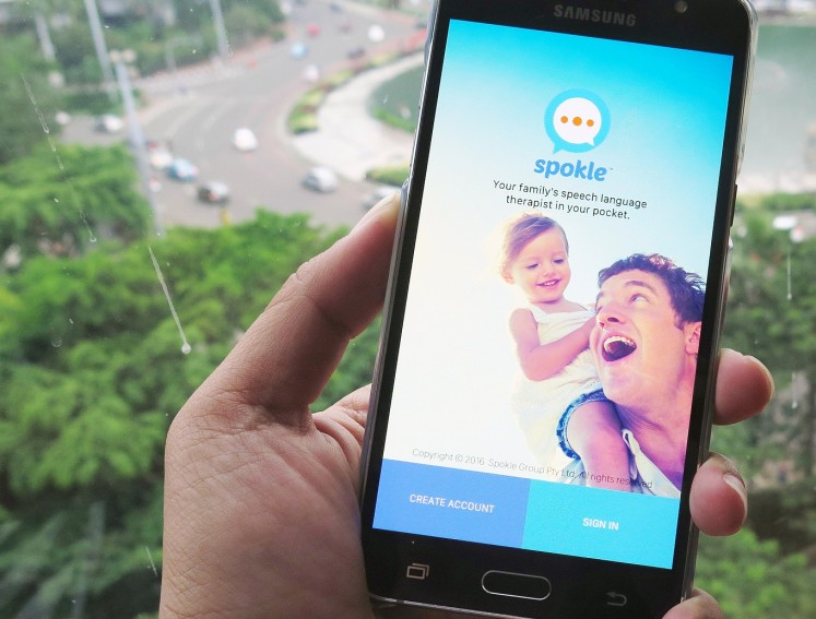The Spokle app, which uses English and Indonesian, connects families to expert knowledge in a way that is affordable, convenient and cuts across geographical barriers.