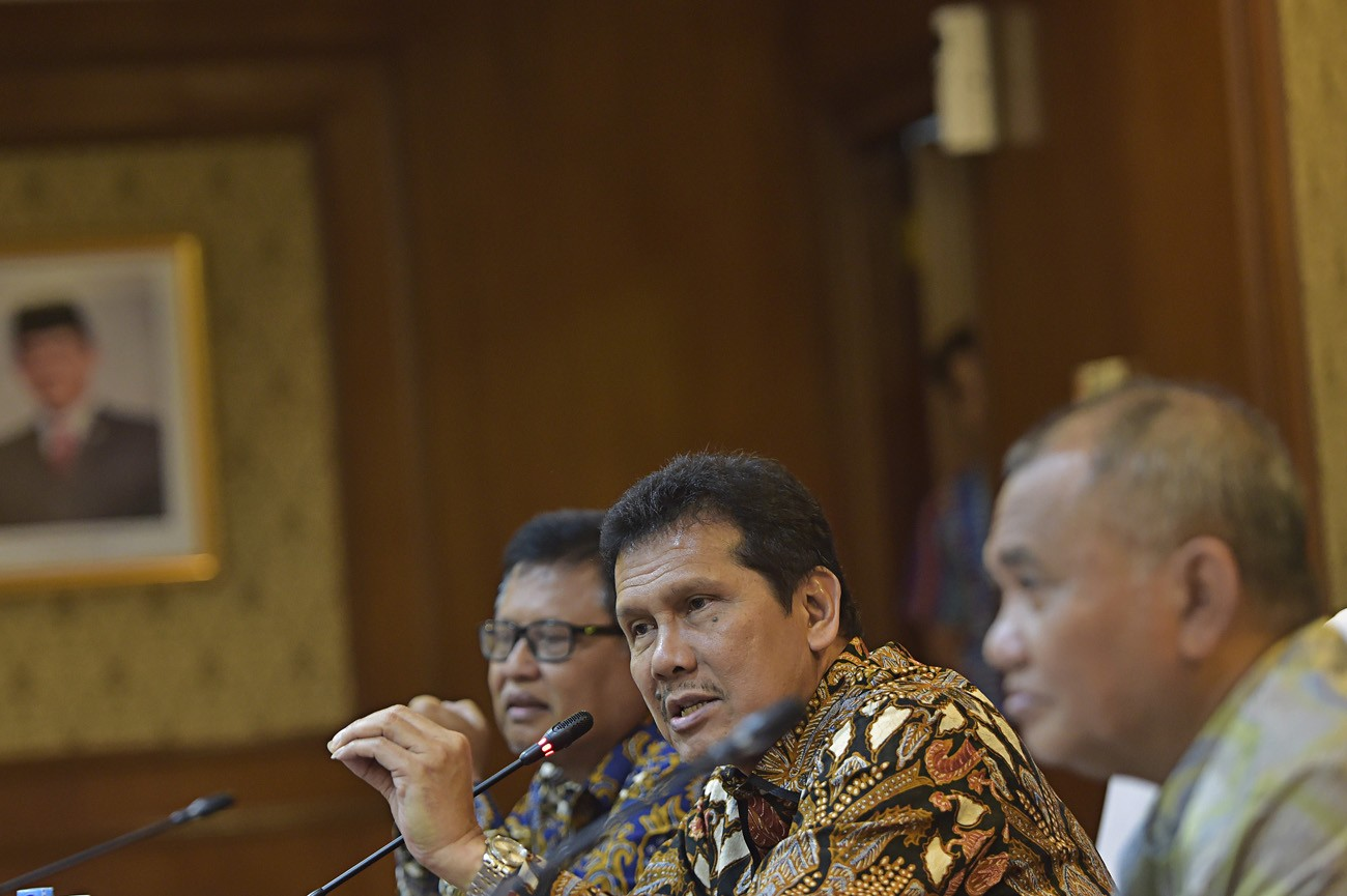 KPK chairman asks Jokowi not to amend KPK Law