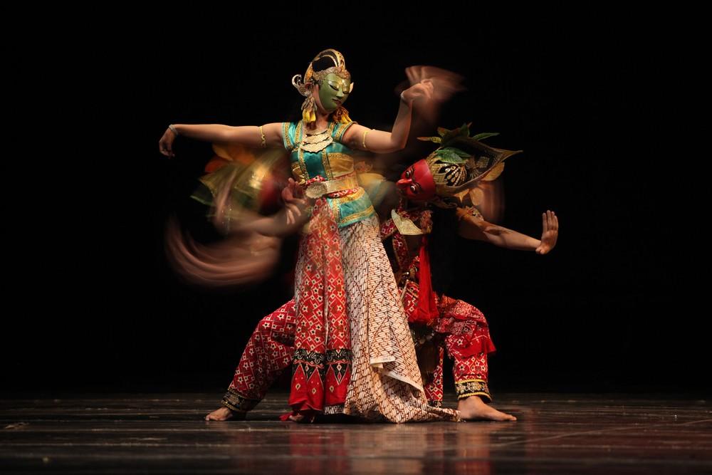 'Wayang topeng' highlighted in Yogyakarta festival