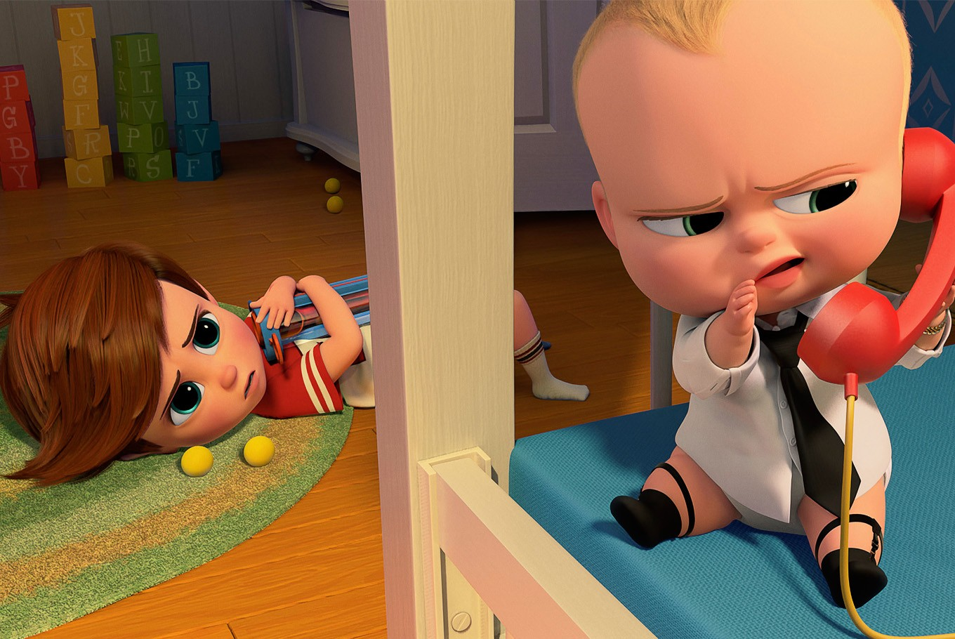 Boss Baby' dethrones 'Beauty and the Beast' with $49M debut