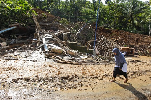 forty million people in indonesia live in landslide prone areas