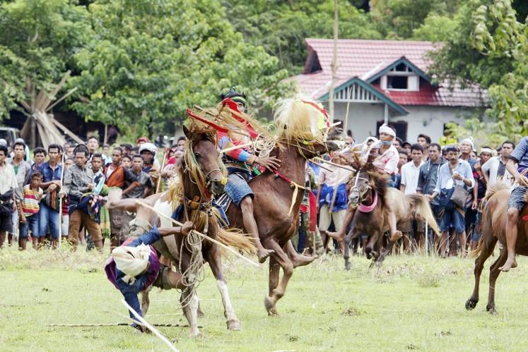 'Pasola': Sumba's centuries-old ritual.