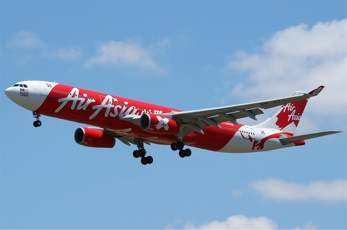 AirAsia sets up low-cost airline in Việt Nam