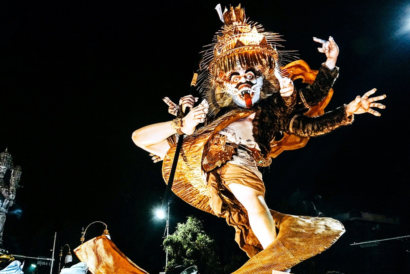 Bali's biggest street party