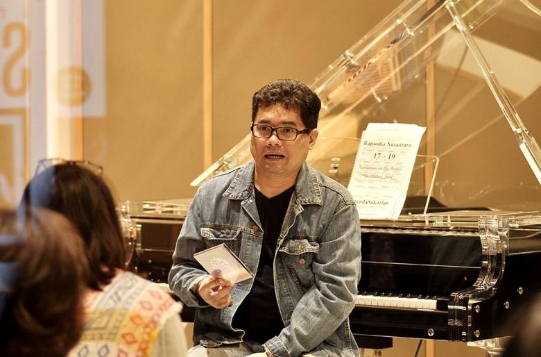 Ananda Sukarlan's musical celebration of human emotions