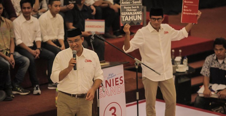 Anies denies campaign jingle copying Jewish song