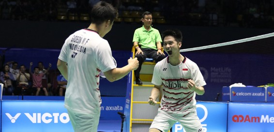 Kevin, Marcus make hat trick with Malaysia Open win