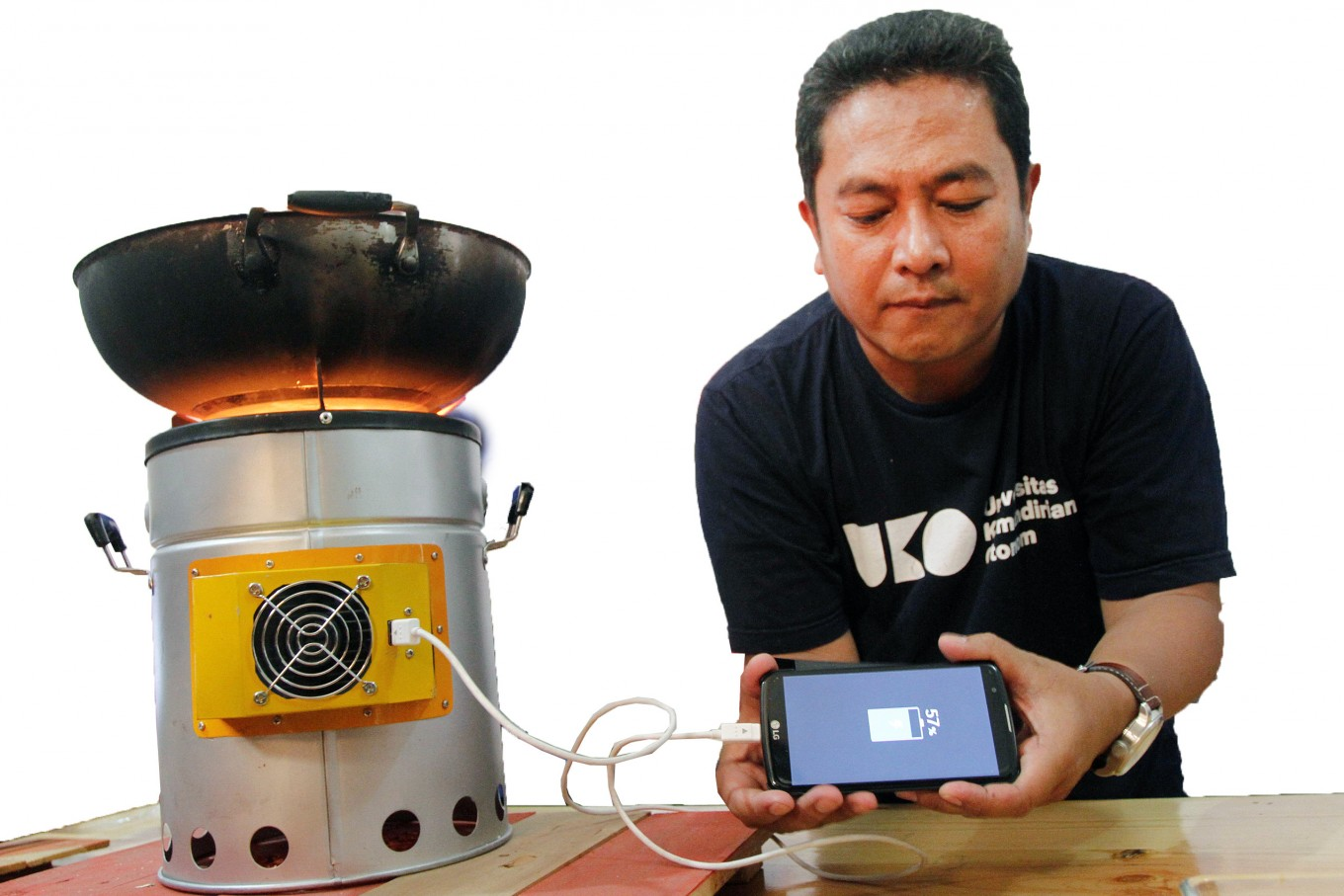 Hawuku stove: Energy innovations for people's welfare