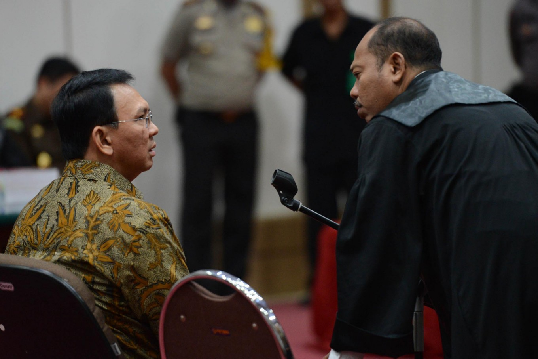 Prosecutors postpone reading of sentence demand against Ahok