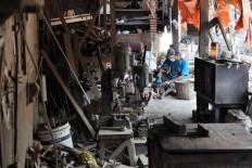 Widodo's Kalvari workshop is located in Mireng village in Trucuk, Klaten, Central Java. JP/Magnus Koeshendratmo