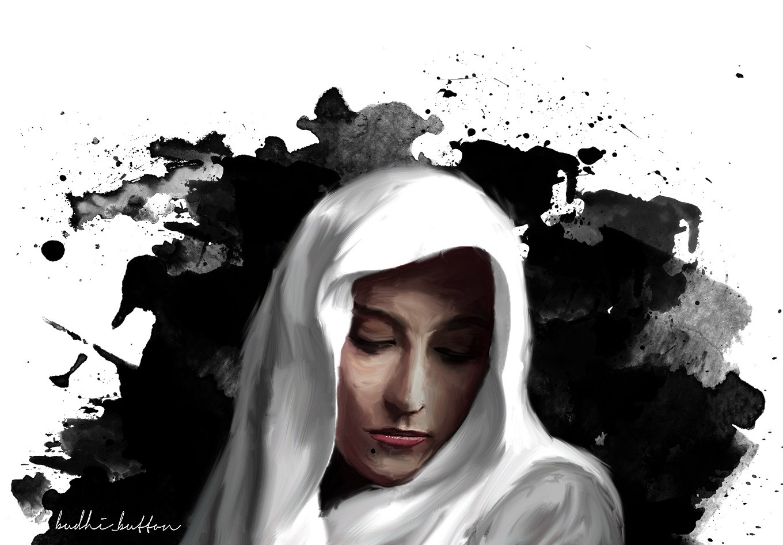 SHORT STORY: The white veil