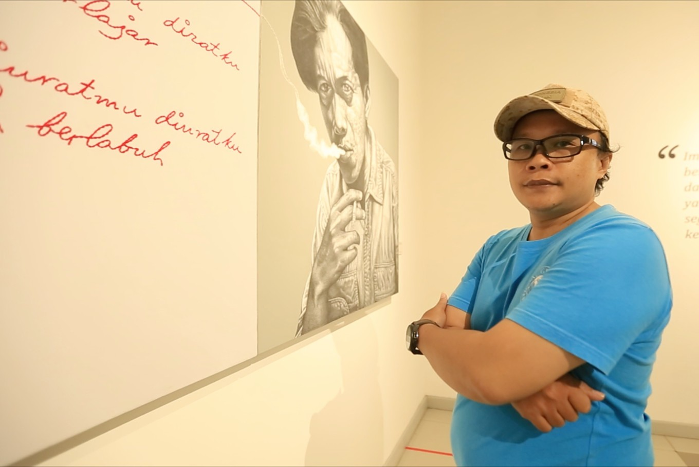 'Between the Lines' art exhibition: Redefining history