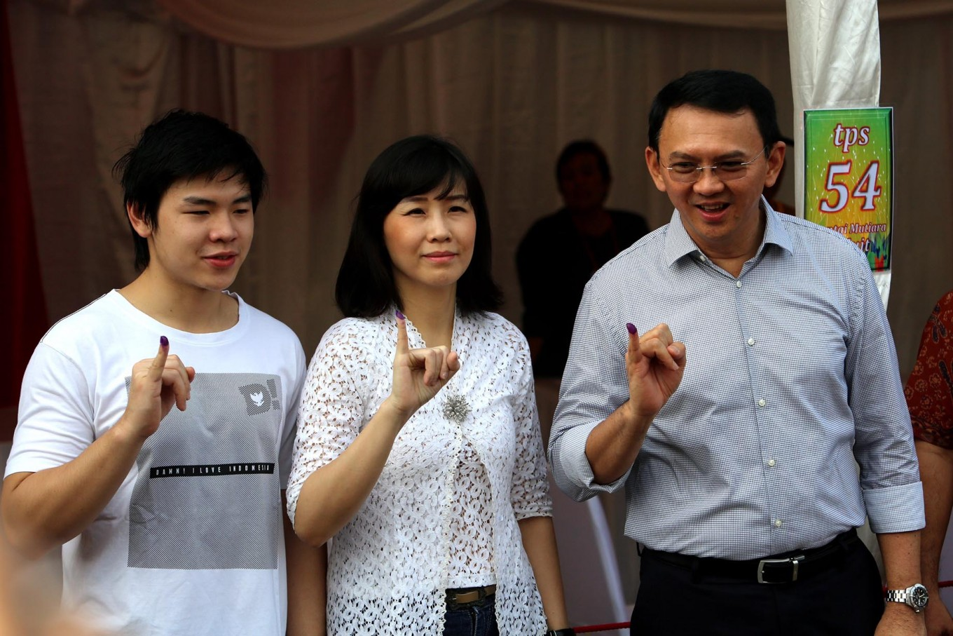 Ahok, Veronica absent in divorce proceedings