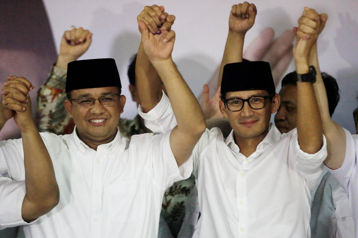 Anies expresses gratitude to Islamic figures in victory speech