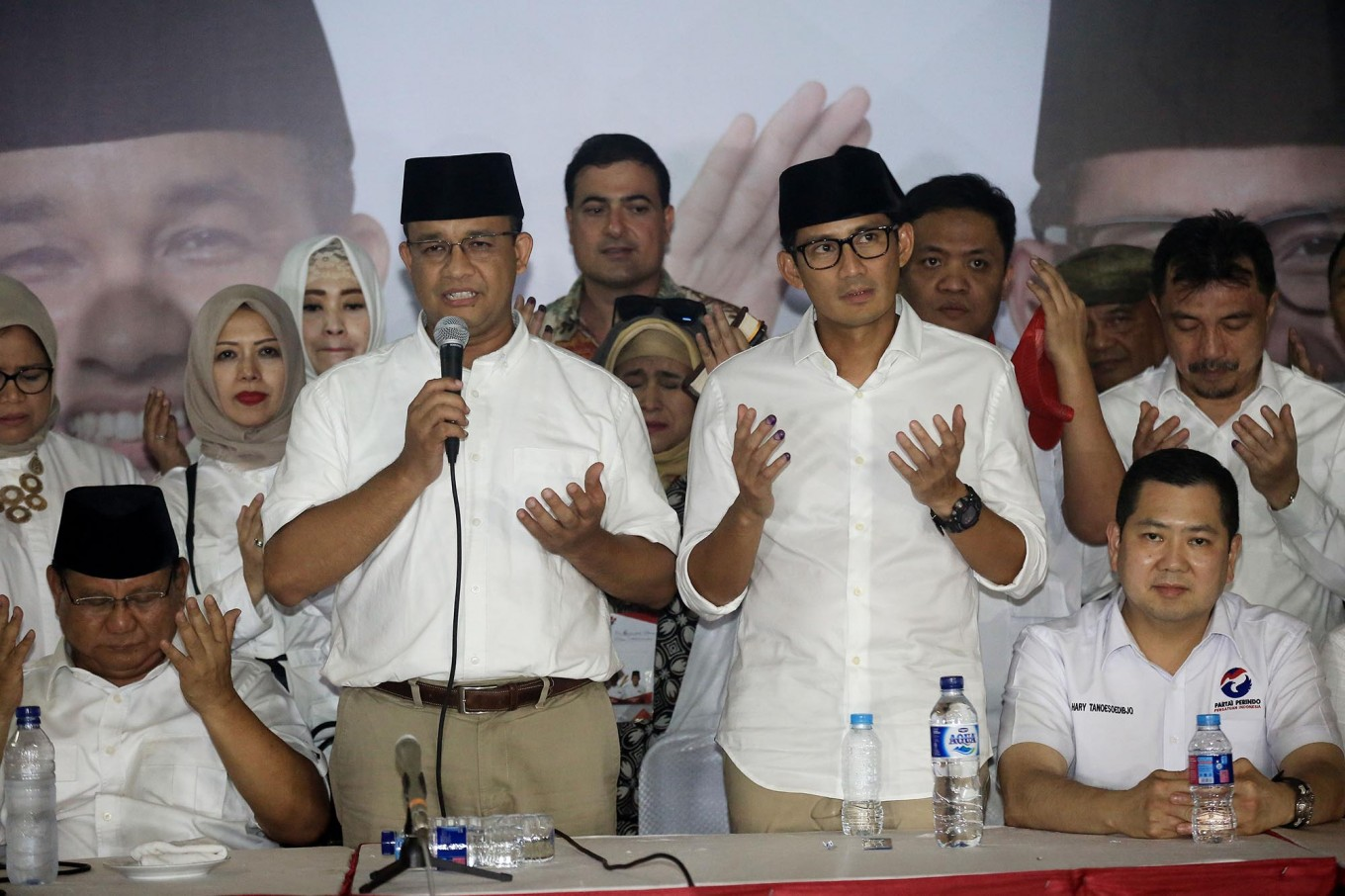 Sandiaga vows to embrace Ahok supporters