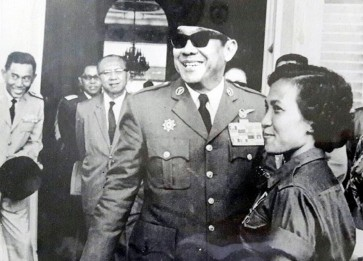Sukarno's archives on display until Aug. 25