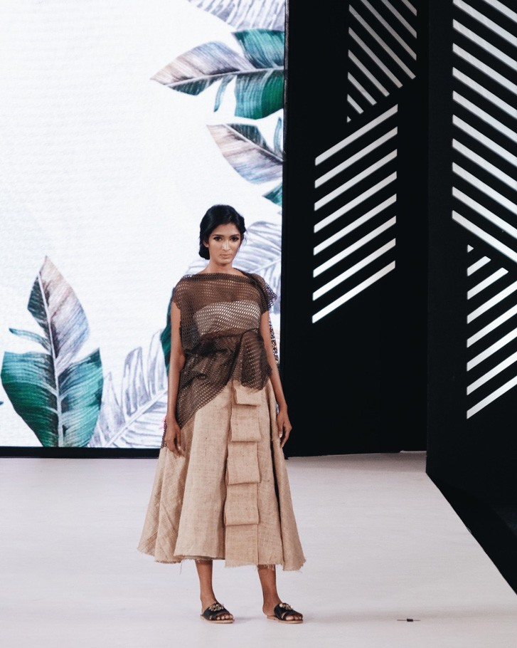 """During the event, Pratiwi presents her newest collection dubbed """"Tropical Immersion"""", which she consideredher """"most honest so far""""."""