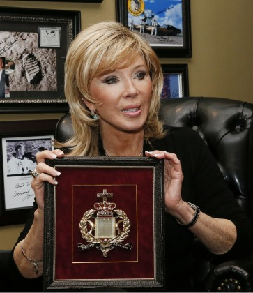 Oklahoman author, Texas dispute ownership of 'lunar Bibles'