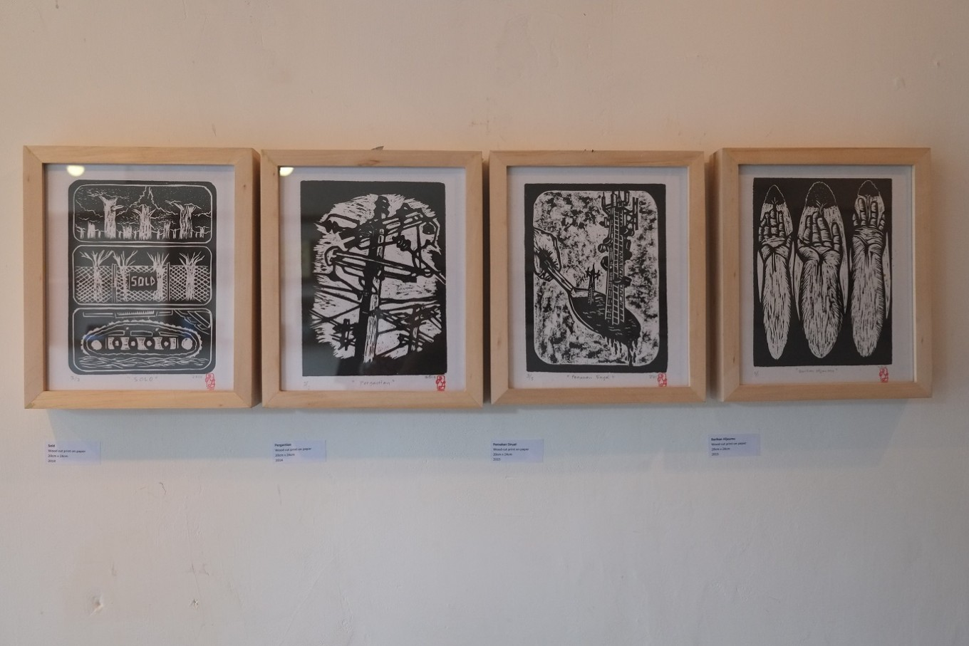 Intersection of art and land struggles in Central Java