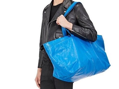 Ikea responds to Balenciaga's extra-large tote bag with joke ad