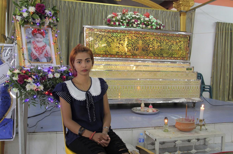 Thai woman has no anger toward Facebook after girl's killing