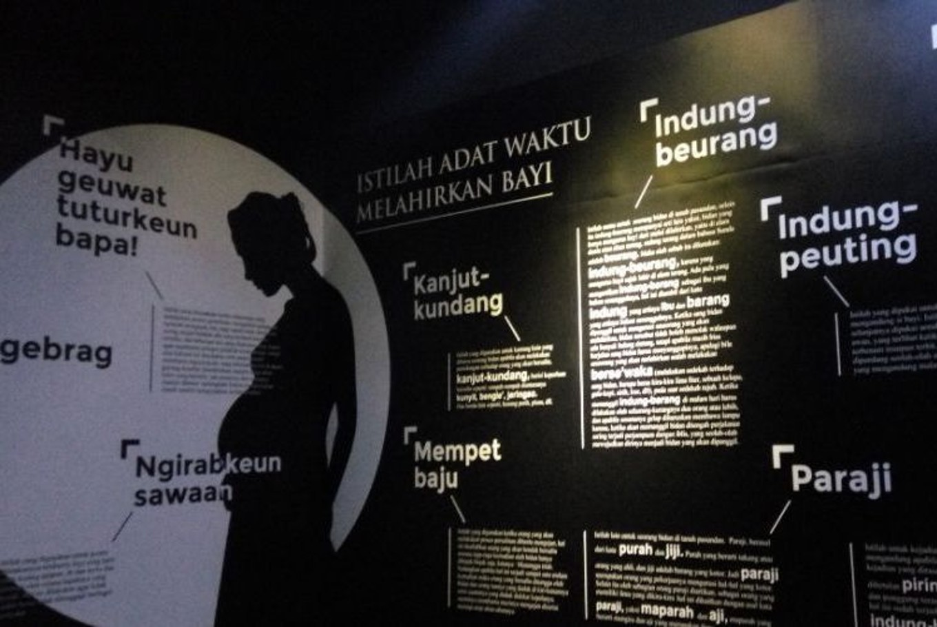 New W. Java museum celebrates motherhood Sunda style