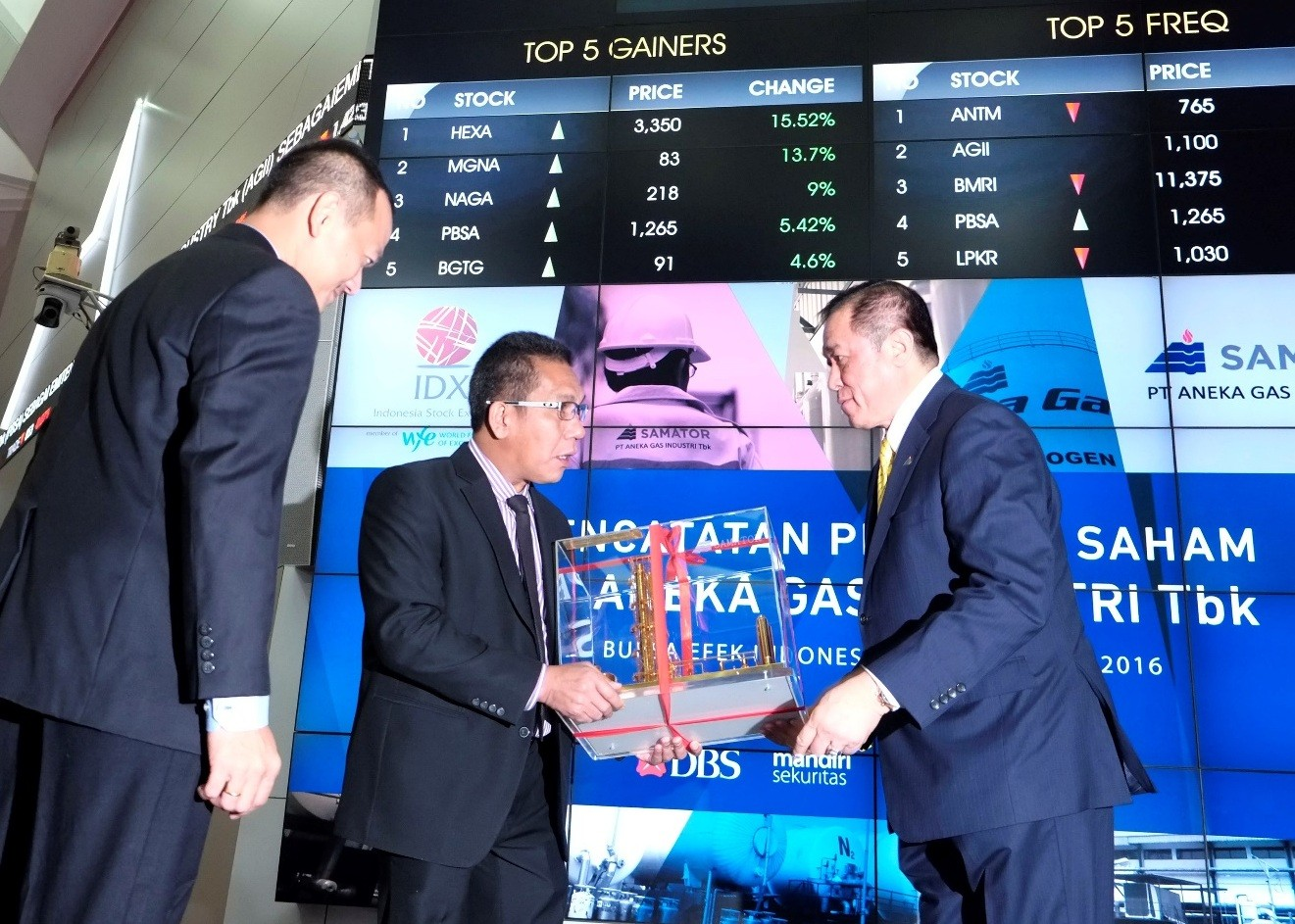 Aneka Gas to issue Rp 400b in bonds and Islamic bonds