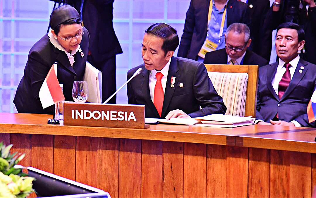 Jokowi's foreign policy: Continuity, new initiatives