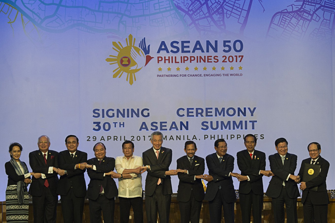 Jokowi campaigns for peace, stability on Korean Peninsula