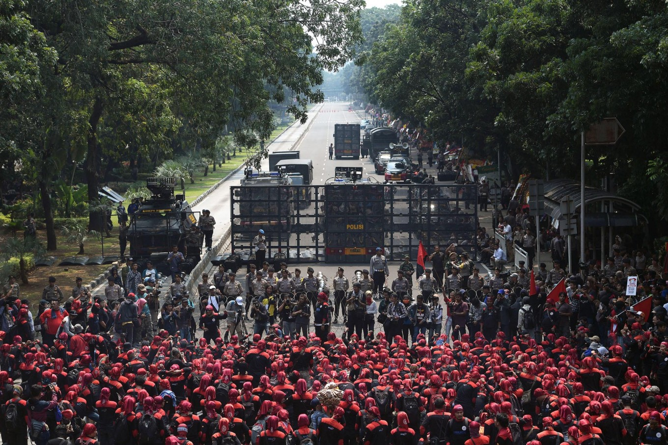 May Day march to concentrate on Monas area