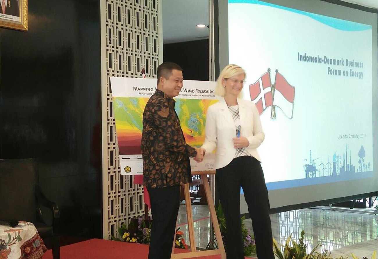 Indonesia-Denmark launch wind power map