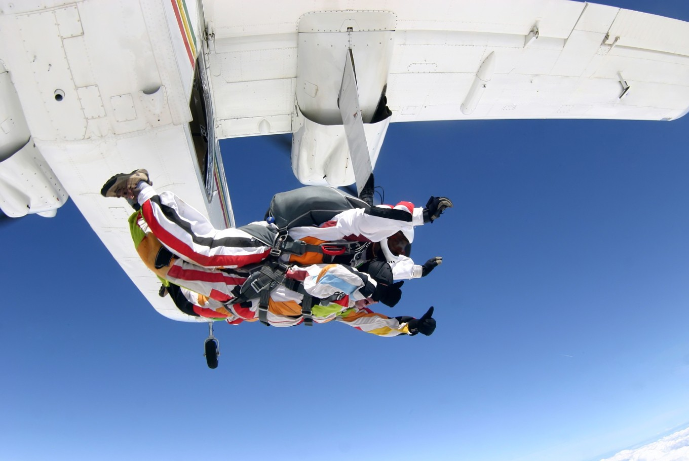 Passion for skydiving leads to Indonesian woman jumping in 46 countries