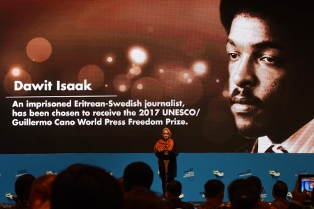 Daughter of Dawit Isaak hopes for peace in Syria