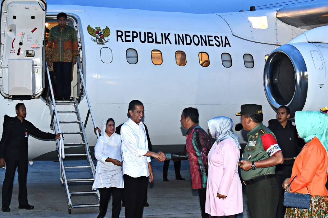 Jokowi kicks off nationwide work trip