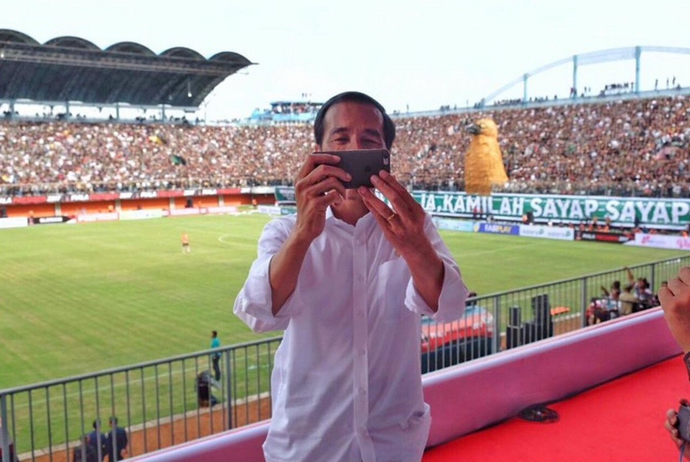 Jokowi listed as one of the most interactive world leaders on Instagram