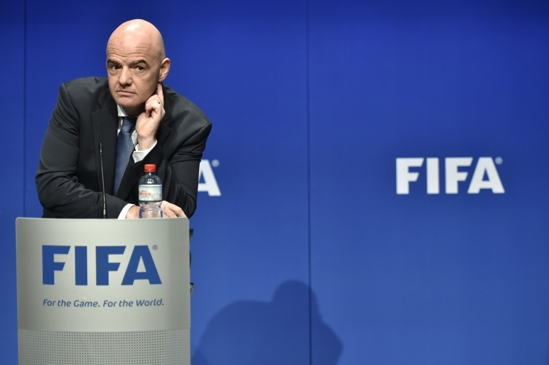 FIFA gathers in Bahrain under a fresh cloud