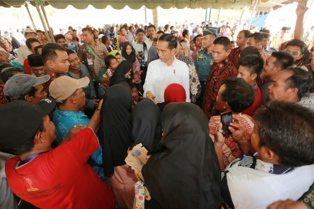 Jokowi sees maritime resources as Indonesian future